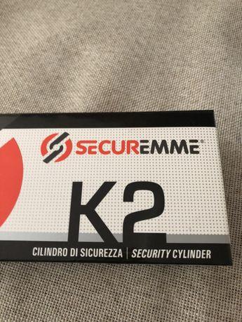 Fechadura k2 usada com 5 chaves