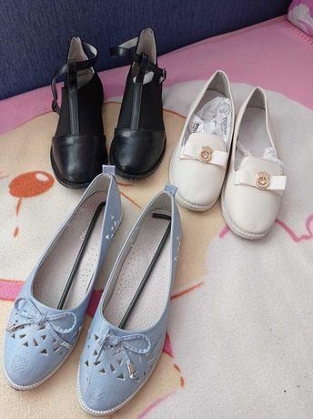 Детская обувь для девочки.