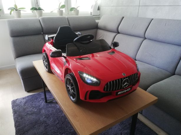 Samochodzik elektryczny jeździk pojazd MERCEDES AMG