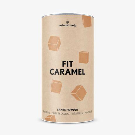 Natural Mojo fit shake caramel 500g nowy