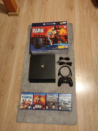 PlayStation 4 Pro, PS4 Pro,+RDR2+ God of war+ days gone+sims 4