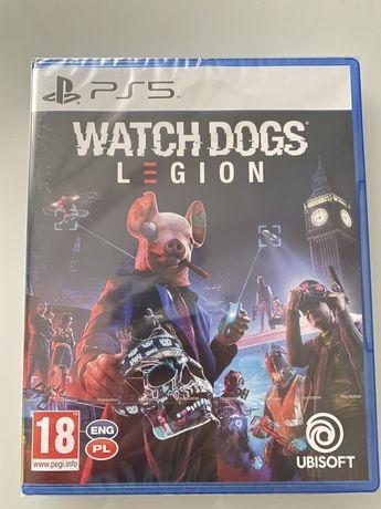 Watchdogs Legion PS5 - PL - NOWA !!! Folia