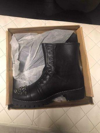Zimowe,nowe buty dziewczęce rozmiar 34