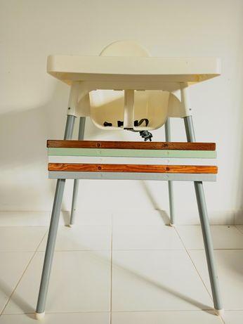 Apoio de pés, pousa pés cadeira refeição ANTILOP IKEA