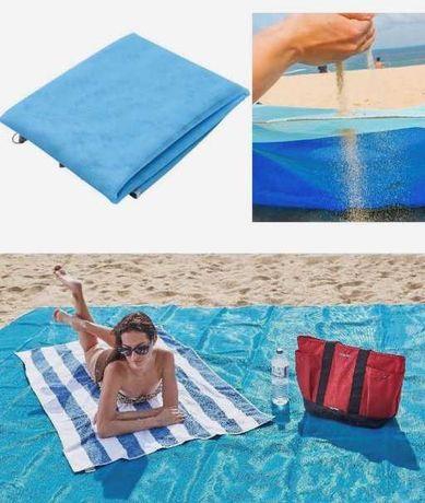 Непромокаемый пляжный коврик Анти-песок