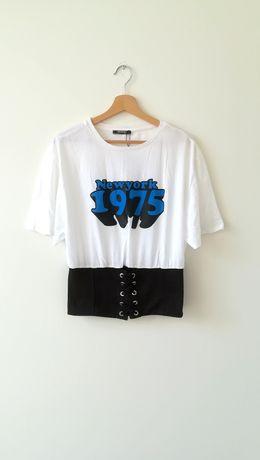 Zara t-shirt, koszulka, bluzka rozm L nowa