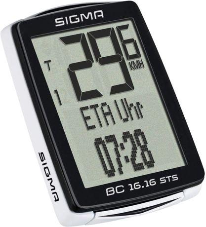 licznik rowerowy sigma 16.16 sts bezprzewodowy