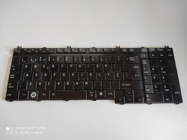 Teclado Toshiba L500 series (Usado)
