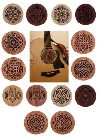 ## Tłumik na otwór rezonansowy (Gibson Fender PRS Takamine Squier) ##
