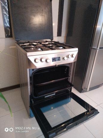 Продам газ плиту с электрической духовкой GORENJE K 65330 DX