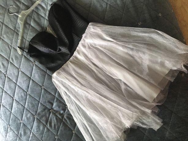 Sukienka szara tiul