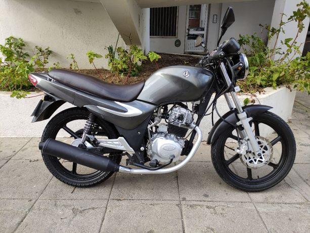 SYM XS 125cc - Muito material novo