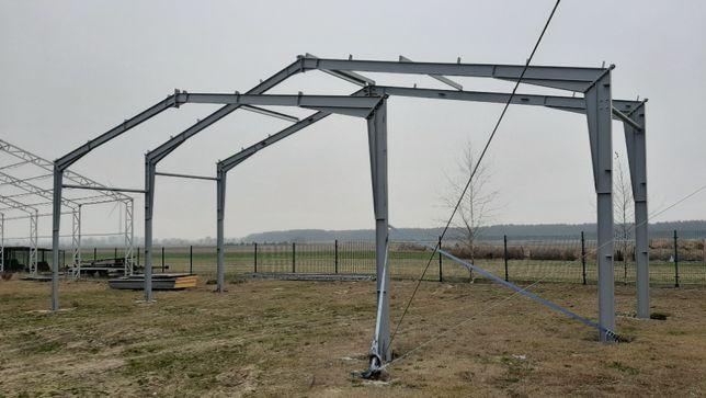 hala stalowa konstrukcja IPE 10 x 20 m wysokość 5m producent Witkowski