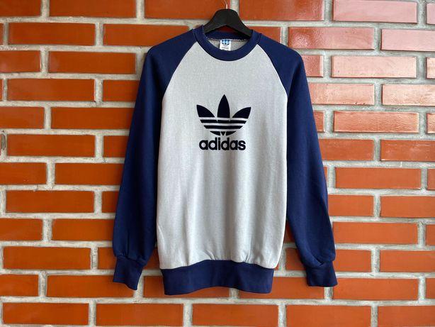 Adidas Vintage оригинал мужская кофта свитшот размер S M Адидас Б У