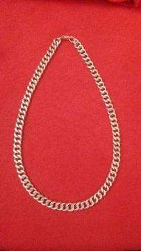 Łańcuszek srebrny pancerka, waga 48, 60 g - jak nowy!