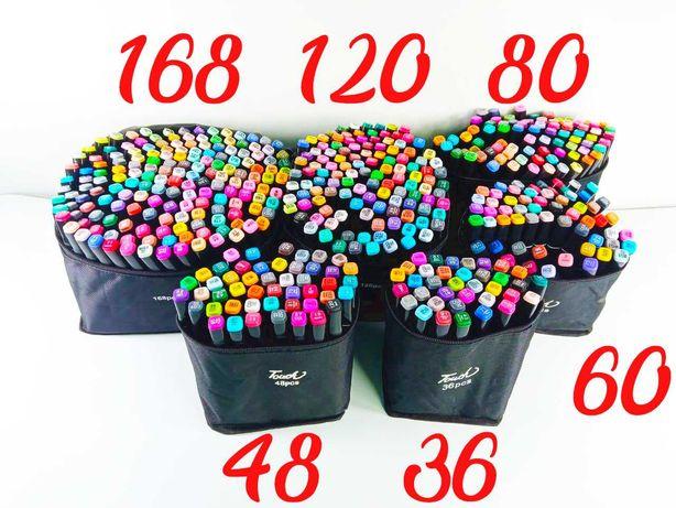 ХИТ!! Набор маркеров TOUCH фломастеры для рисования для скетчинга