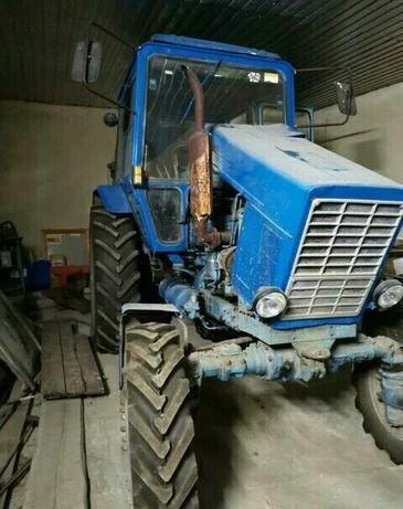 Трактор МТЗ 82 на ходу 1989 г.