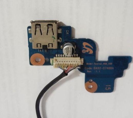 Плата включения с разъемом USB BA92-07488A