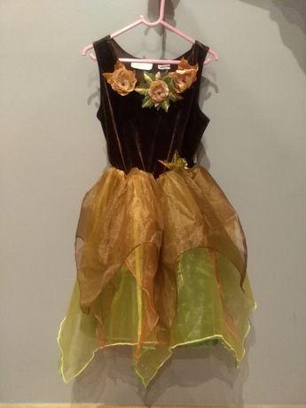 Piękna suknia balowa, strój karnawałowy.