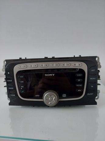 Oryginalne radio Sony z Forda Mondeo mk4 z kodem