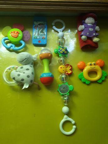 Набір погремушок,лот іграшок,пакет іграшок