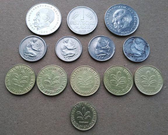 Коллекция монет ФРГ 1949 - 1974 г.