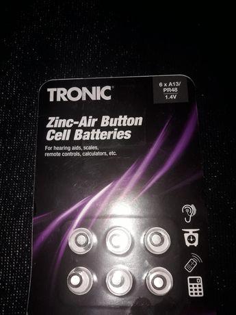 Батарейки Tronic A13/PR48