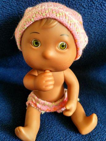Пупсик игрушка в вязанной одежде, изумительная и прикольная кукла