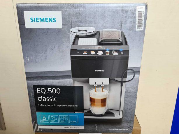 Automatyczny ekspres do kawy Siemens EQ.500 Classic TP503D09