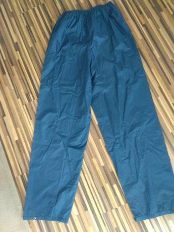 Spodnie przeciwdeszczowe trekkingowe górskie nieprzemakalne XL 56 58