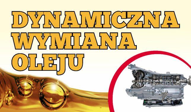 Dynamiczna wymiana oleju w automatycznyej skrzyni biegów