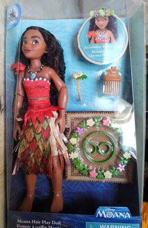 Набор Моана прически Дисней кукла Моана Ваяна с заколками лялька Моана