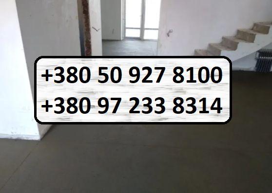 Напівсуха стяжка підлоги, бетон, розчин