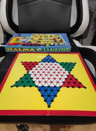 4 gry planszowe w 1 - Halma Labirynt