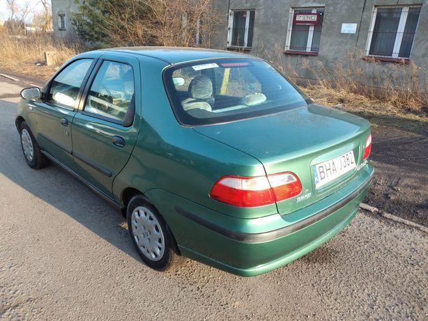 Fiat Albea, niski przebieg, nowy przegląd