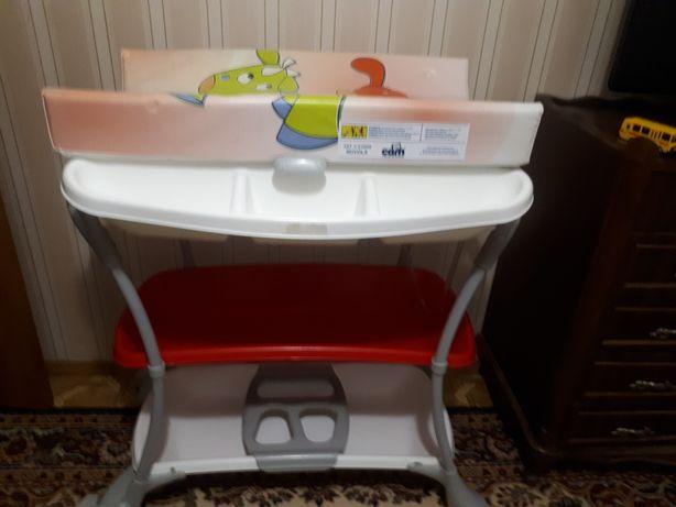 Продам пеленальный стол с ванночкой САМ (Италия)