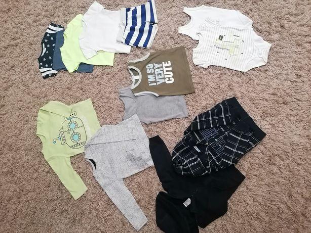 Paka na chłopca, uhranka, rozmiar 80, bluza, bluzki, koszulki, hm