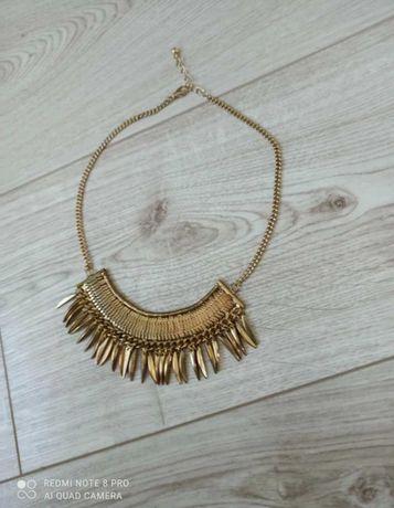 Złoty naszyjnik Reserved złota kolia