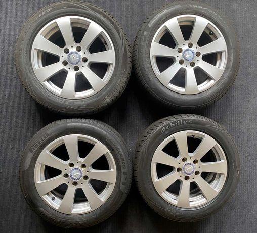 """Jantes 16"""" Originais Mercedes com pneus em excelente estado"""