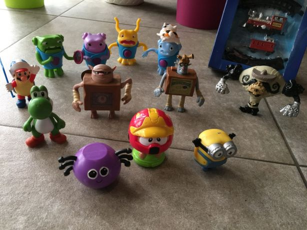 Zestaw ruchome Figurki Home Dom Pudłaki OCH Boxtrolls Minionek Mario