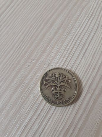 1 фунт 1984 года Великобритания