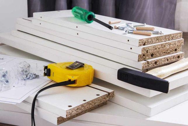 Monter, montaż, składanie, skręcanie mebli systemowych Ikea, BRW itp.