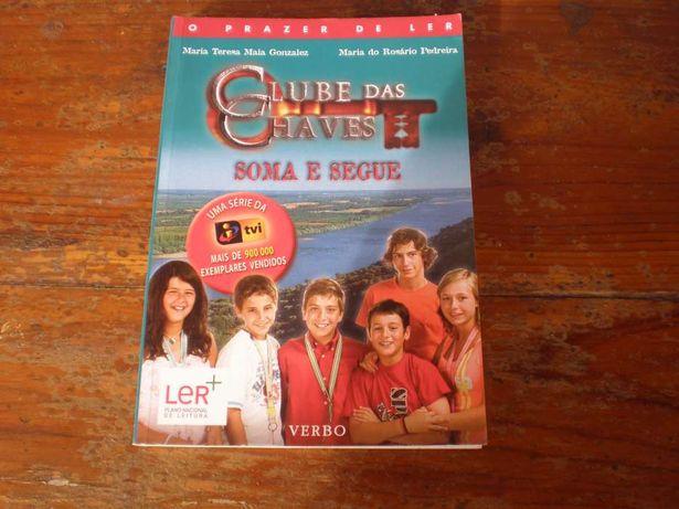 Livro Clube das Chaves Soma e segue