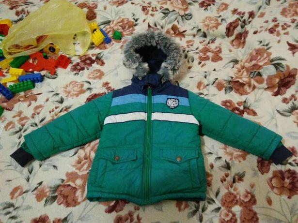 Зимний полукомбинезон +куртка Mariquita р.92-98