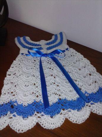 Conjunto crochet menina por encomenda
