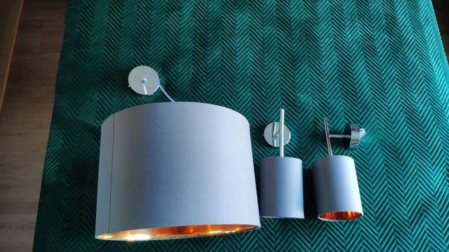Lampa sufitowa z kinkietami