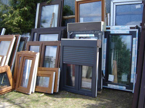 okna pcv z demontazu kol.antracyt