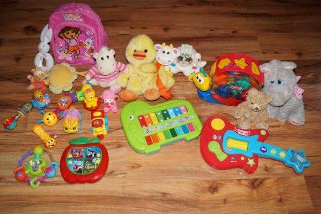 ZESTAW zabawek zabawki dziewczynka 0-24mce