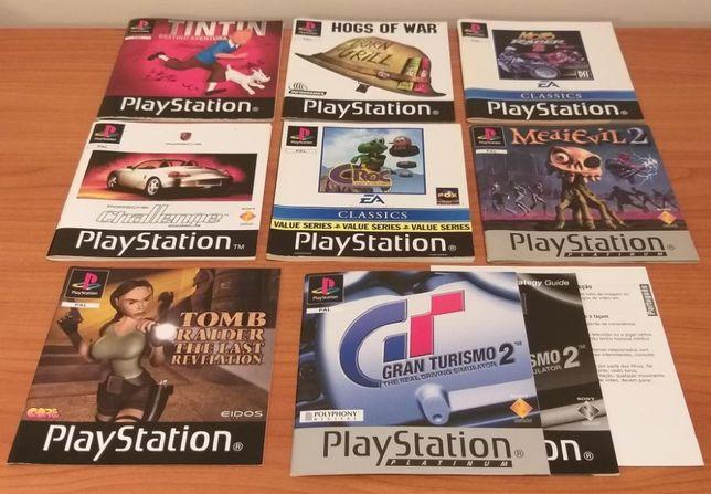 Manuais Playstation 1 - PSX