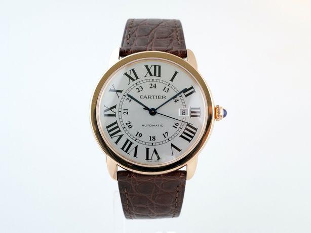 Мужские б/у часы Cartier Ronde Solo De Cartier XL 42 мм